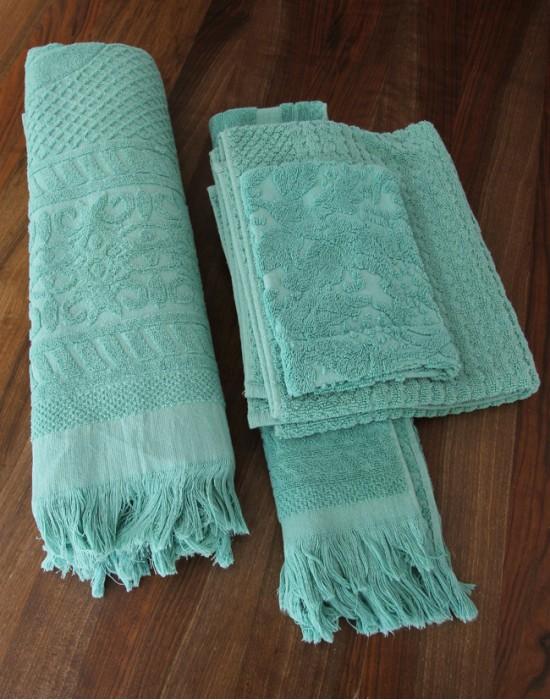 Jade Lion Towels