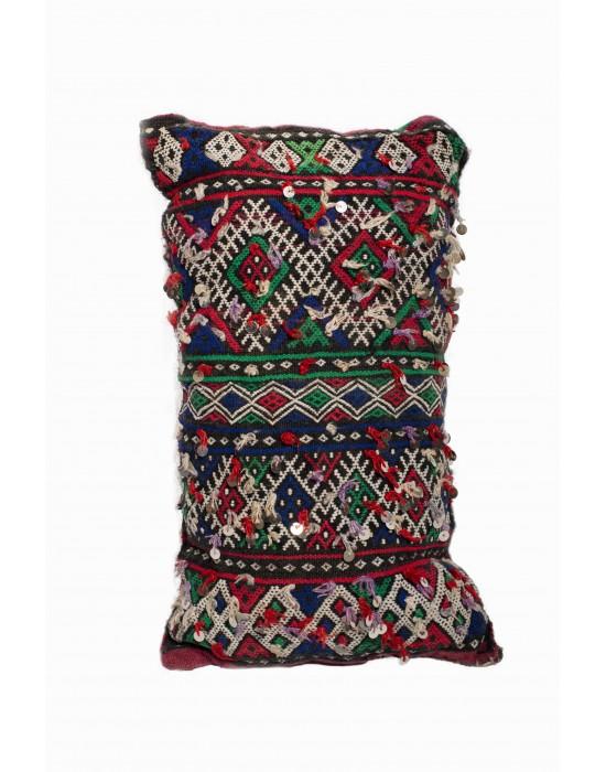 Blue & Red cushion